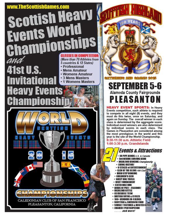 Caledonian Games - 2015