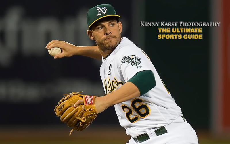 Oakland A's - 7-25-16 - Kenny Karst