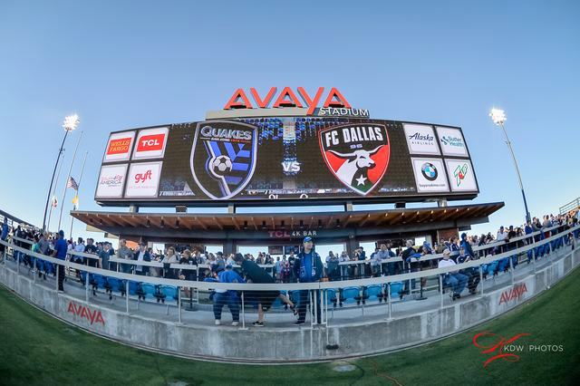 SJ Earthquakes - 7-8-16 - Kenneth Wong