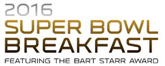 Super Bowl Breakfast Logo