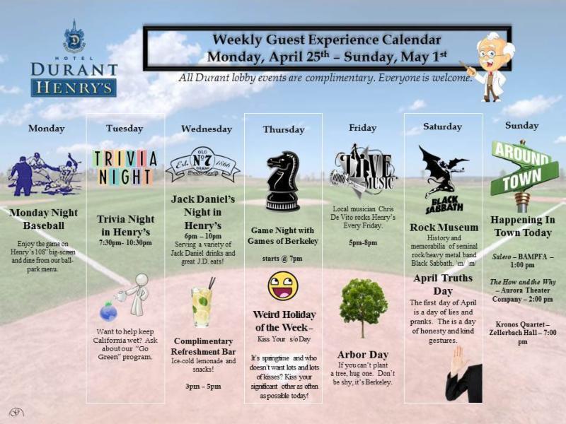 Henry's calendar - 4-25-16