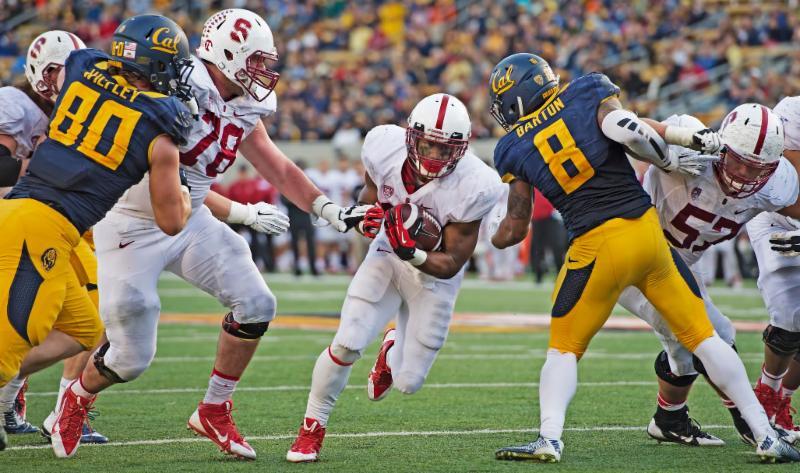 Kenny Karst - Cal v. Stanford - running - 2014