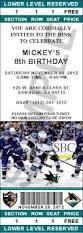 San Jose Sharks ticket