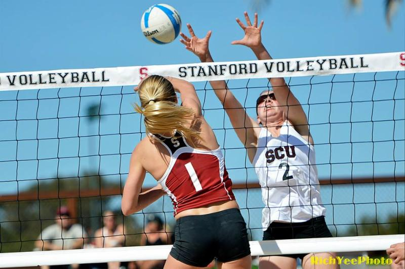 Stanford sand volleyball - 3-2015