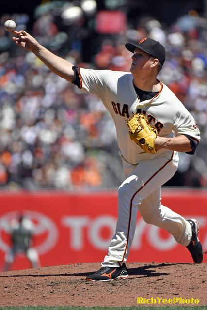 SF Giants - 8-1-16 - Rich Yee