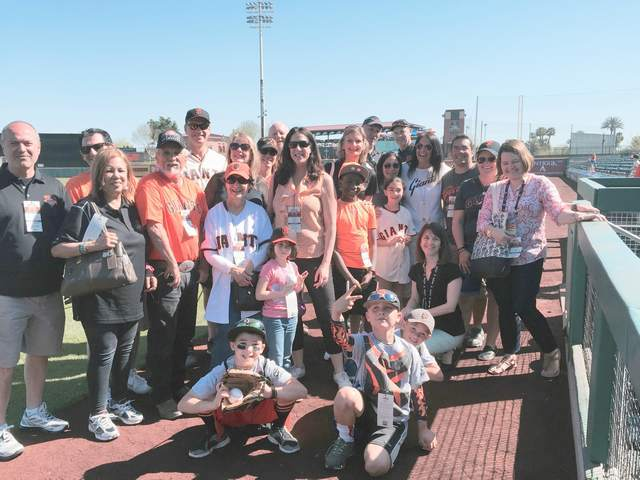 Spring Training - Giants Community Fund - 2015