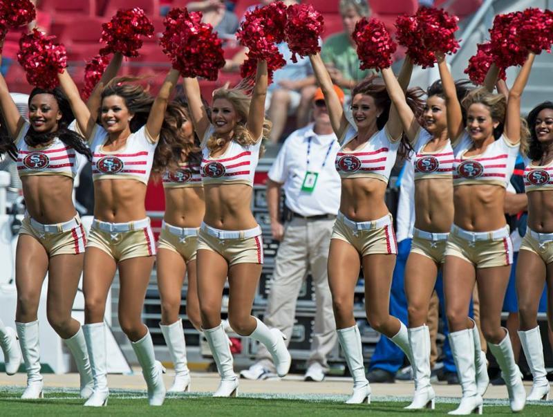 Kennery Karst - 49ers cheerleaders - 2014