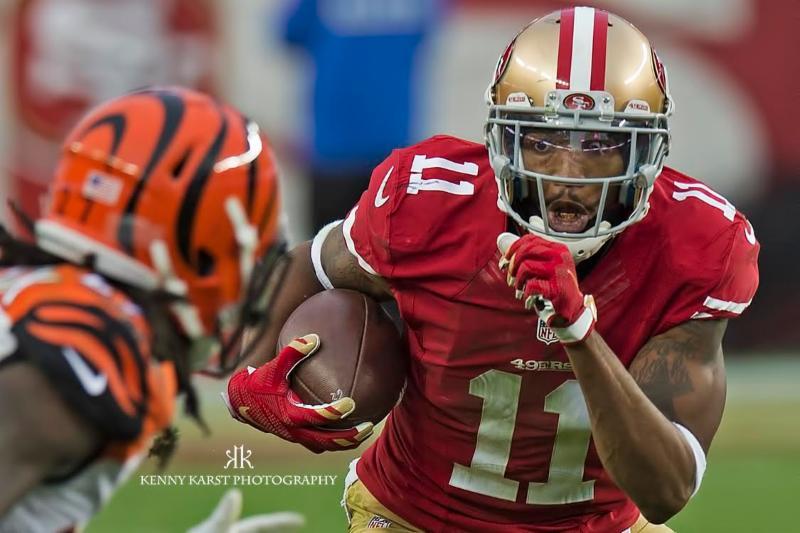 49ers v. Cin. - 12-20-15 - Kenny Karst