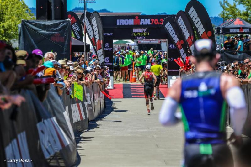Vineman 70.3 - 7-10-16 - Larry Rosa
