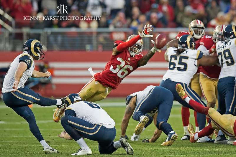 49ers v. Rams - 1-3-16 - Kenny Karst
