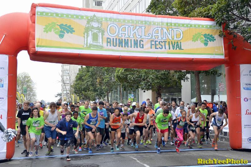 Oakland Marathon -- 3-22-15