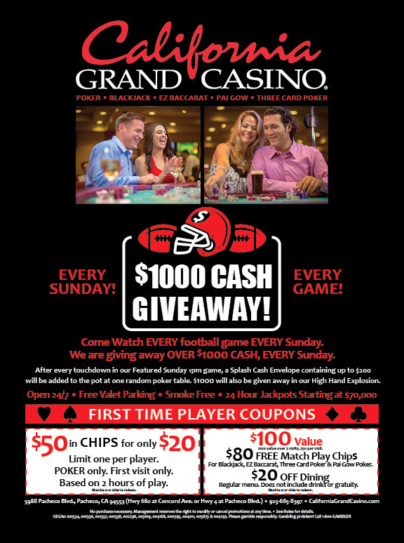 California Grand Casino Ad