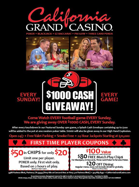 California Grand Casino Ad