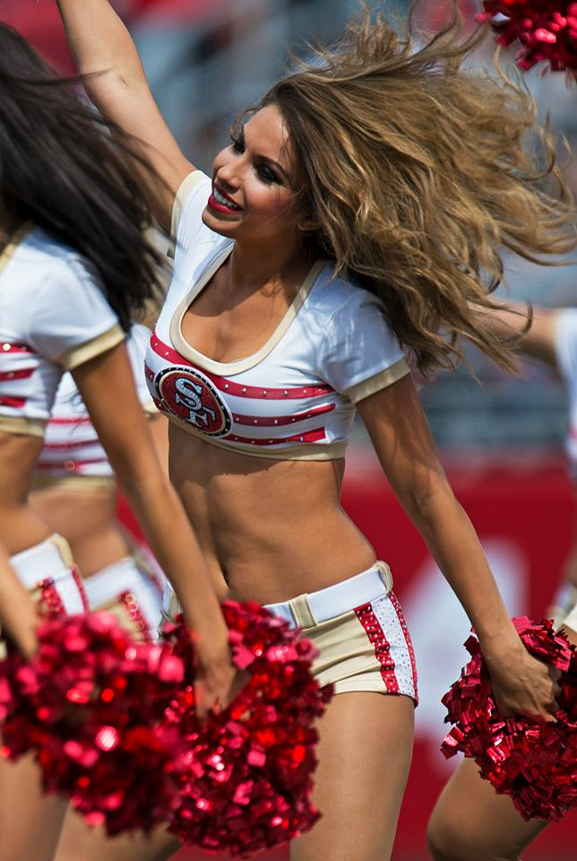 Kenny Karst - 49ers cheerleaders - 9-2014