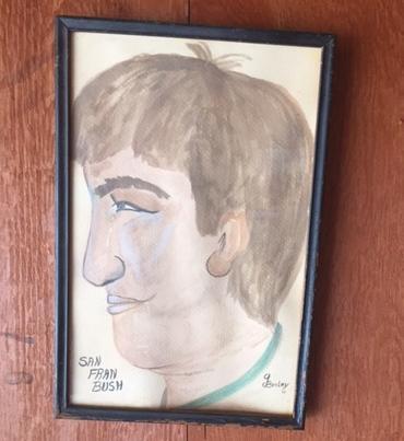 Dave Bush Gwen drawing