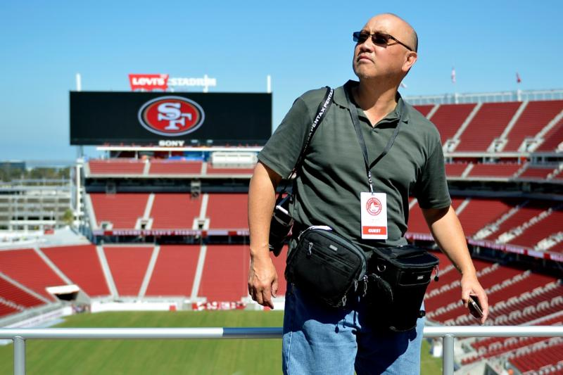 Ed Jay at Levi's Stadium