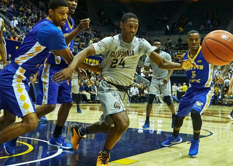 Cal v. Coppin State - 12-19-15 - Ron Sellers