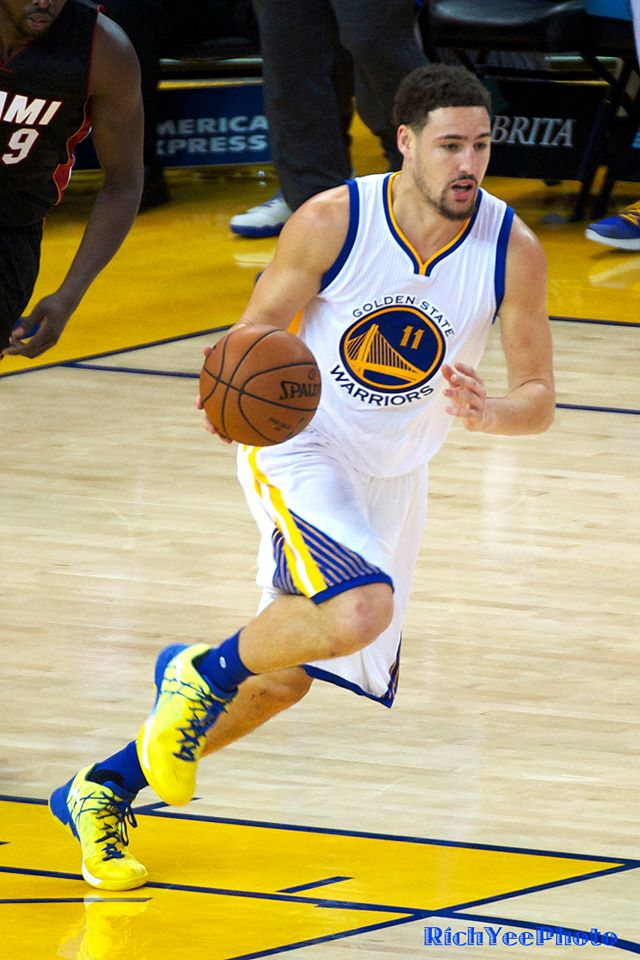 Klay Thompson - 5-30-16 - Rich Yee