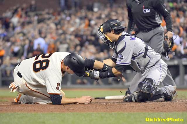 San Francisco Giants - 5-5-16 - Rich Yee