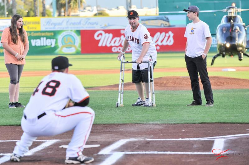 San Jose Giants - Bryan Stow - 2015
