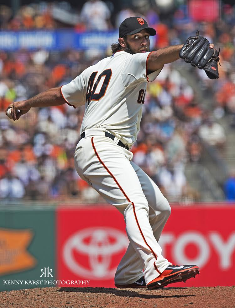 Madison Bumgarner - 5-2-16 - Kenny Karst
