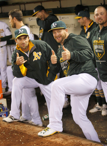 Fuld and Vogt - A's - 2015 - Zagaris