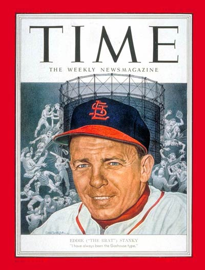 Dizzy Dean on Time Mag