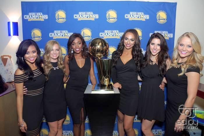 Warriors Calendar Girls - 11-30-15 - Ed Jay