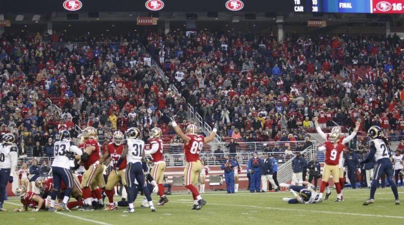 49ers v. Rams - 1-3-16 - Michael Zagaris