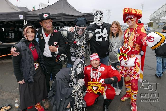 12-6-15 - Raiders v. Kansas City - Ed Jay