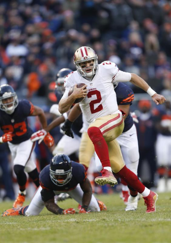 49ers v. Bears - 12-6-15 - Michael Zagaris
