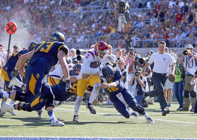 Cal vs. USC - 10-31-15 - Ron Sellers