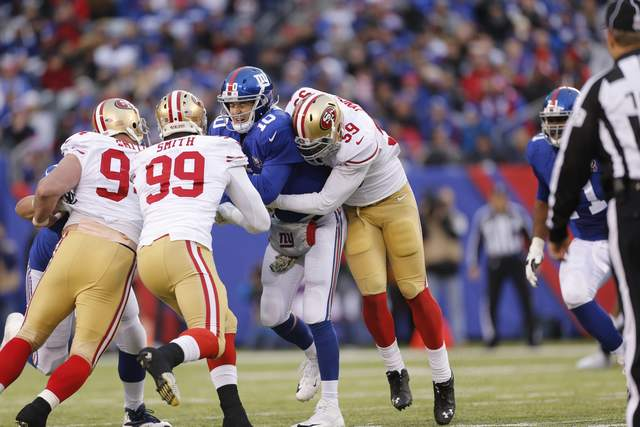 Michael Zagaris - Rushers - Giants - 11-14