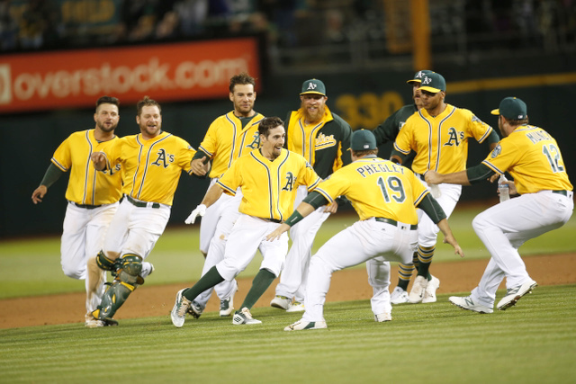 A's - 6-17-16 - Michael Zagaris