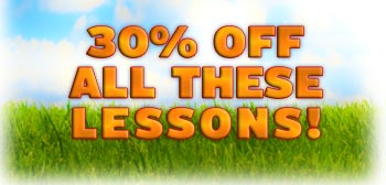 30% off All Lessons