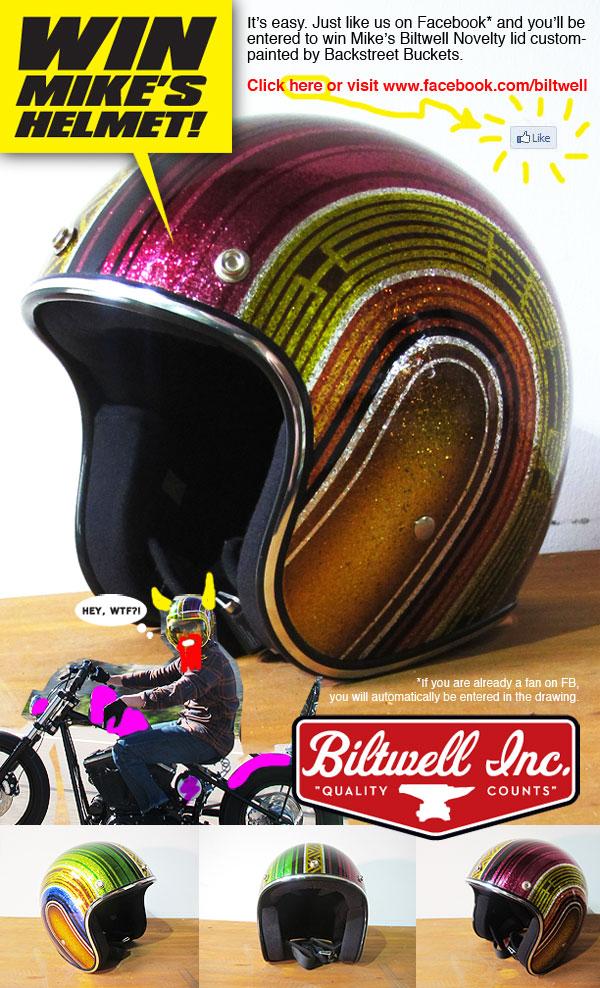 Helmet Contest Flier