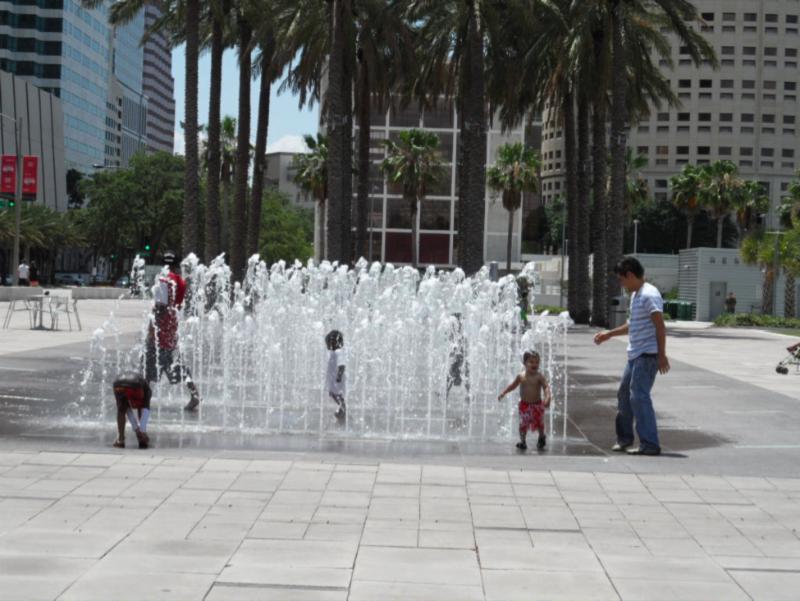 Tampa, Fla., Fountain