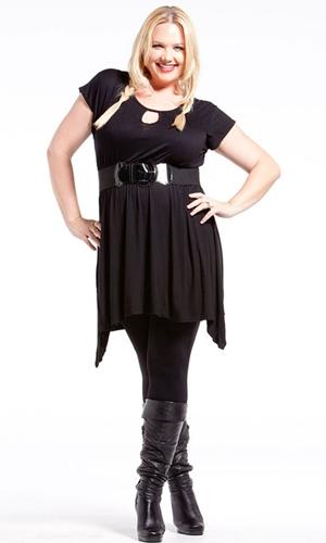 SWAK-black tunic