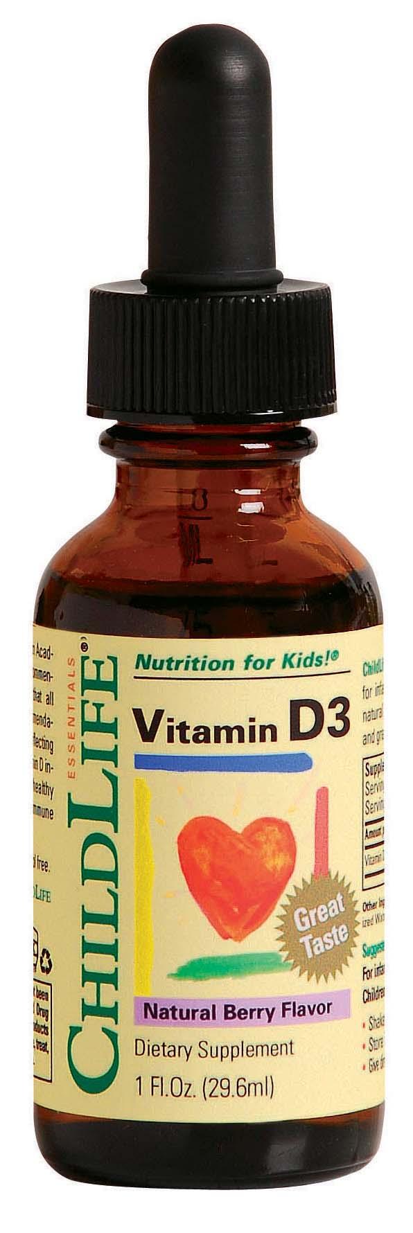 Child Life Vitamin D3