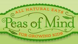 Peas of mind logo