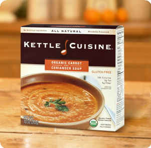 Kettle Cuisine Organic Carrot and Coriander Soup