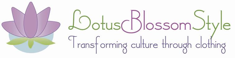Lotus Blossom style logo