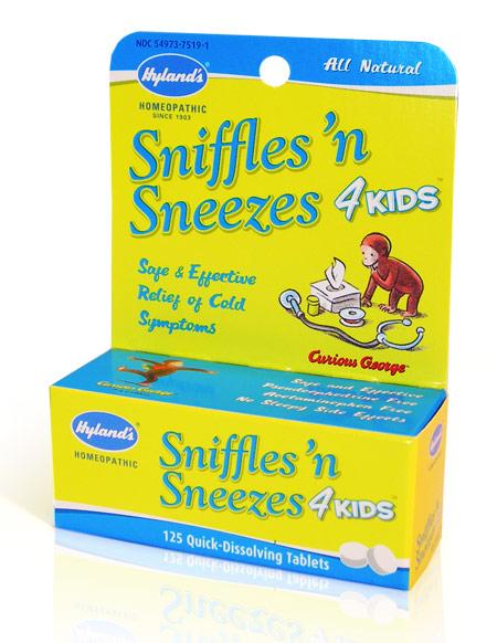Hylands Sniggles n Sneezes