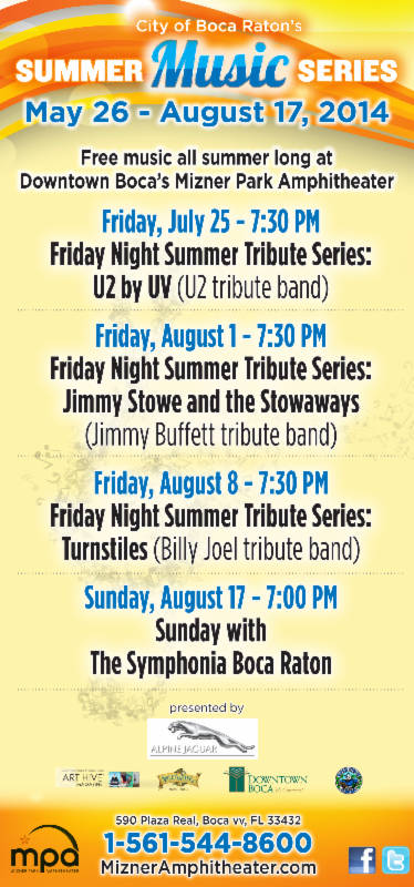 City of Boca Raton Summer Music Series