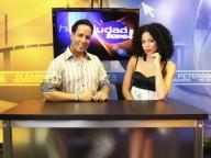 Telemundo Tampa's Francisco Flores and Raengel Solis
