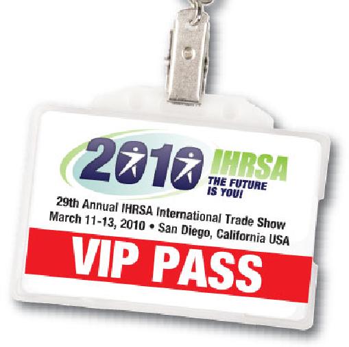 IHRSA 2010 VIP PASS