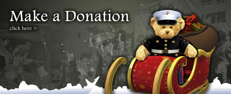 Toys For Tots Bear : Midco inc sponsors usmc reserve toys for tots drop off