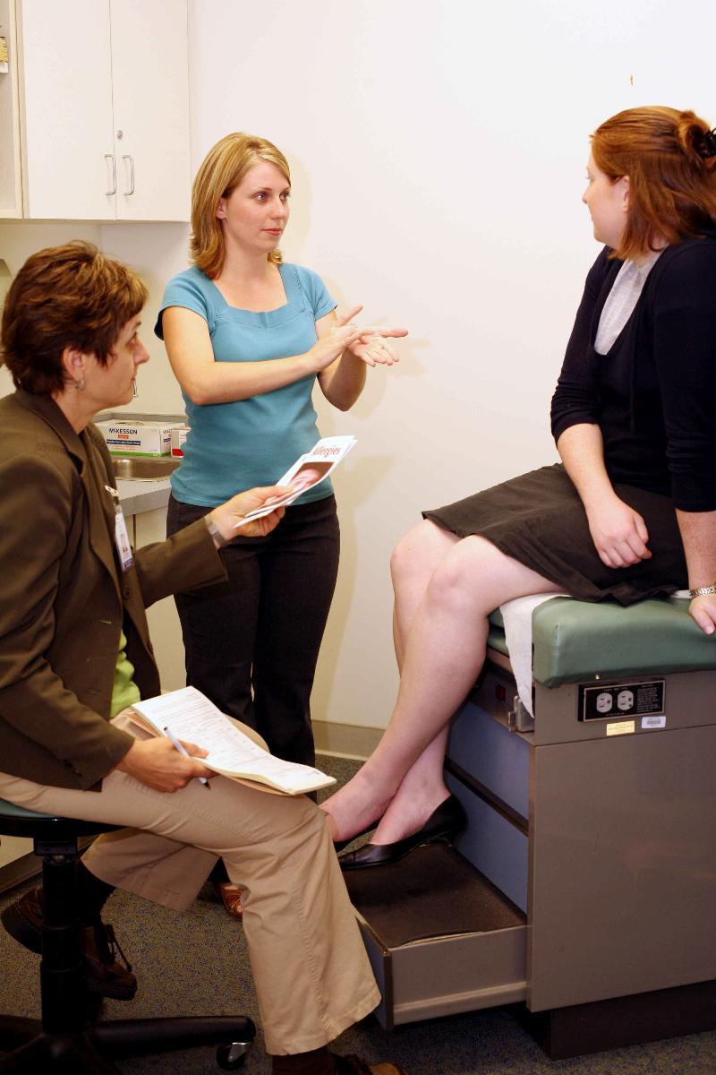 Medical Interpreting Encounter