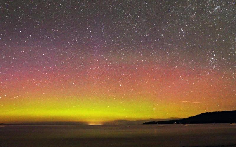 Meteor Shower Northern Lights BEST