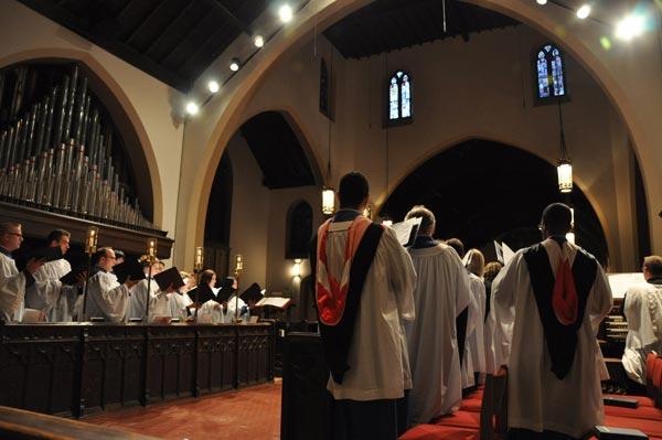 Evensong choir